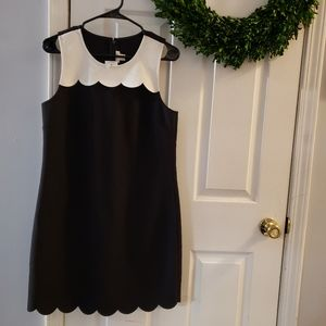 J. Crew scalloped dress size 6 NEW